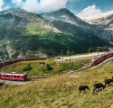 Suíça, de trem